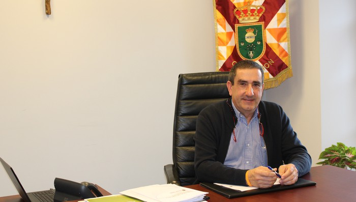 """Eduardo Terroba: """"Enplegua da Oiongo arazo handiena, eta horretara bideratuko dugu esfortzua"""""""