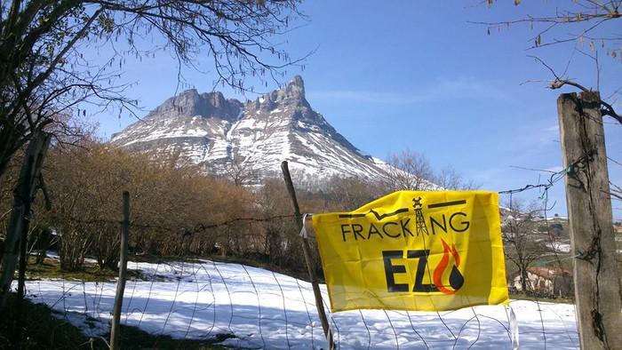 Frackingaren aurkako elkarretaratzea egingo dute ostiralean Laudion