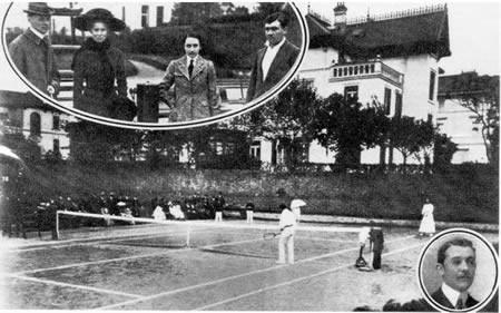 Arabar batek lortu zuen Espainiako lehenengo domina olinpikoa, 1900an