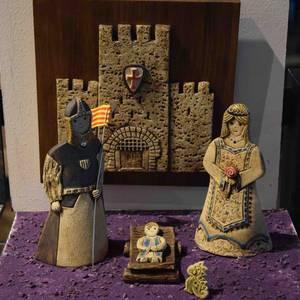Santxotena museoaren jaiotzen erakusketa, iruditan