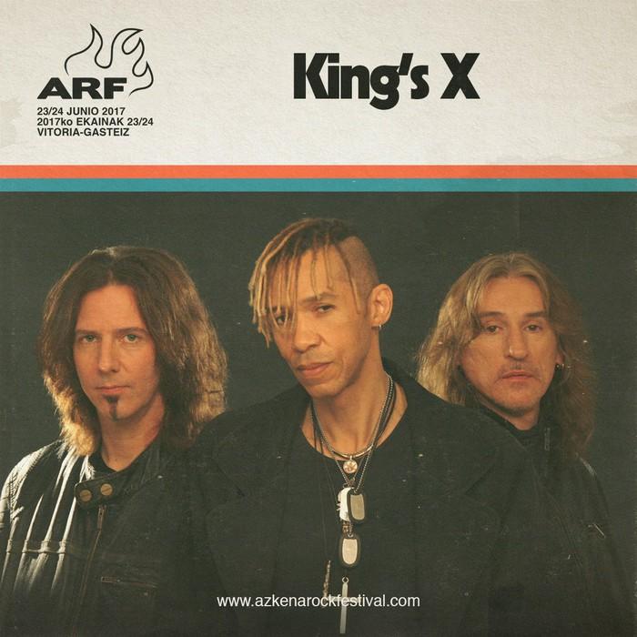 Graveyard eta King's X taldeekin itxi du kartela Azkenak