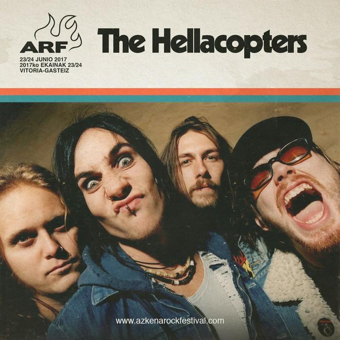 The Hellacopters, John Fogerty eta Loquillo, Azkena Rockera