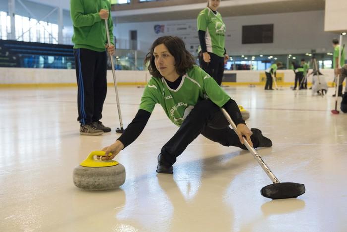 Harrikada Curlingek bigarren postua lortu du Espainiako emakumezkoen txapelketan