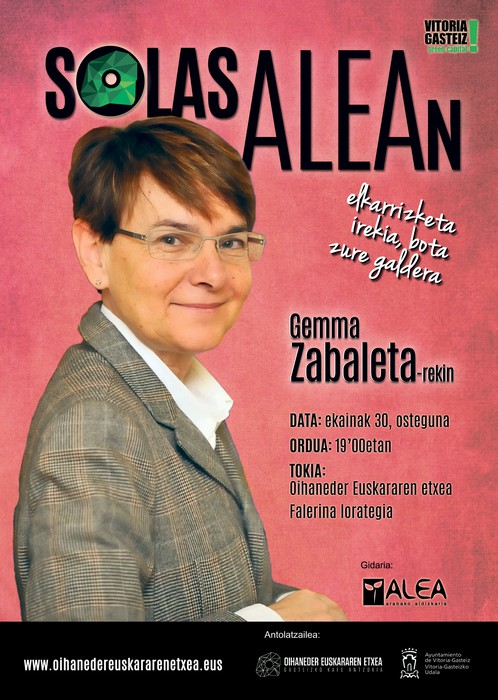 Gaur, Gemma Zabaleta Falerina lorategian