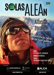 Alberto Zerain mendizalea izango da ostegunean SolasAlean saioan