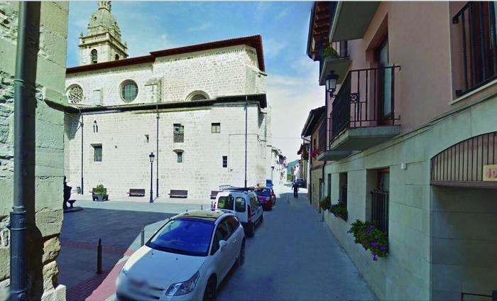 Santa Maria kalera joango da Argantzungo aurrekontu proiektuko diru gehiena