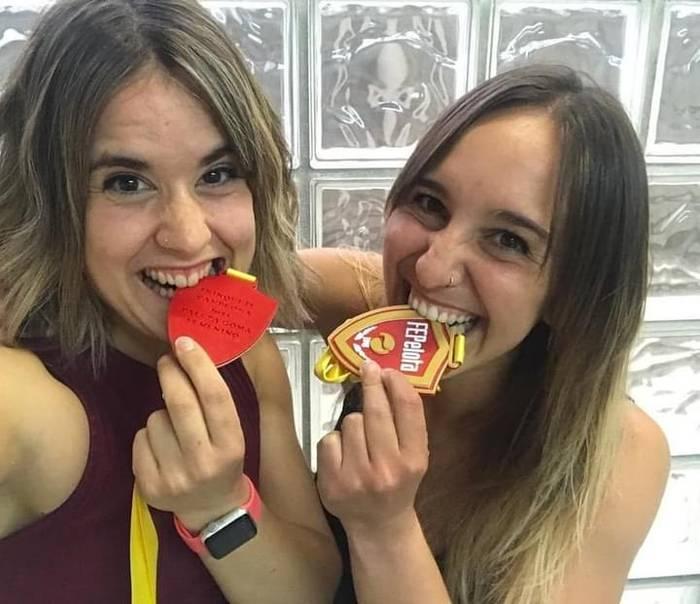 Ane Ibañezek eta Nagore Martinek urrea lortu dute paleta argentinarreko Espainiako Openean