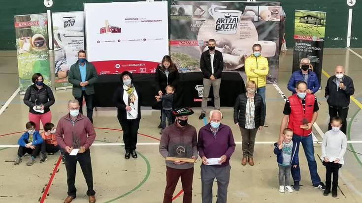 Arabako artzai gaztarik onena egiten du Patxi Lopez de Uraldek
