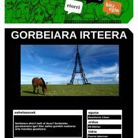 [MENDI IRTEERA] Gorbeia
