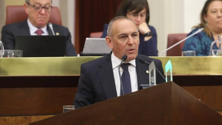 Ramiro Gonzalez izendatu dute Arabako diputatu nagusi