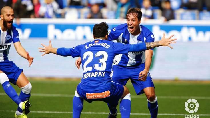 Alavesek nagusitasunez irabazi dio Valladolidi