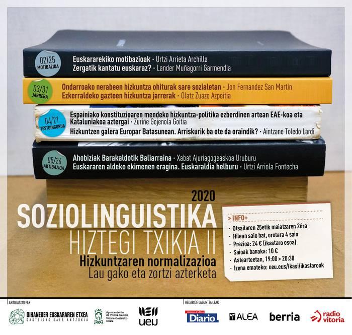 'Soziolinguistika Hiztegi Txikia II: jarrera', Olatz Zuazo eta Jon Fernandez