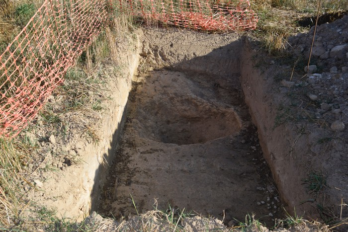 Erromatar garaiko herrixka baten aztarnak aurkitu dituzte Atiagan - 3