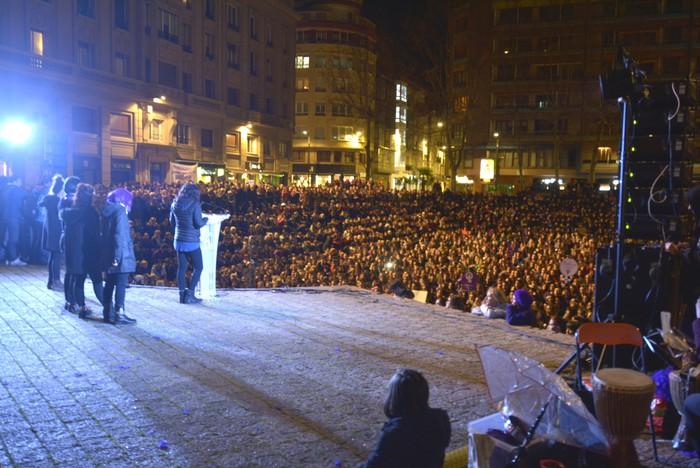 Borroka feministak gainezka egin du Gasteizko kaleetan - 20