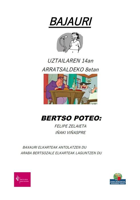 [BERTSO POTEOA] Baxauri Plaza Librea