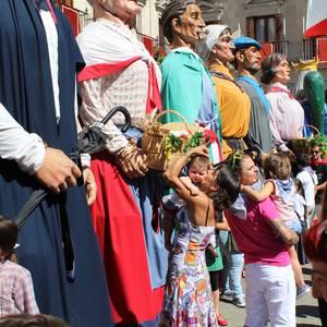 Txikiek hartu dute festaren lekukoa