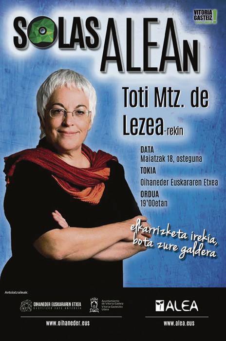 SolasAlean, Toti Martinez de Lezearekin