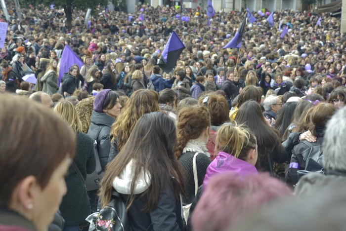 Milaka emakumek egin dute bat borroka feministarekin  - 20