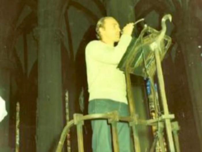 Jesus Fernandez Naves: hatza utzi duen pertsona