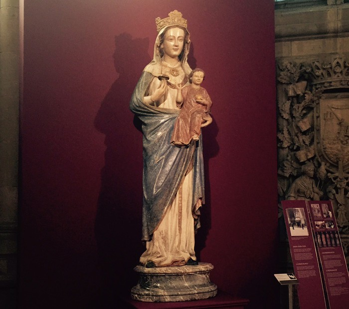 Andre Maria Zuria Katedral berrian da, zaharberritu ondoren