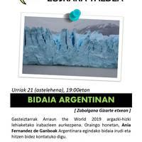 [GASTEIZTARRAK ARRAUN THE WORLD] 'Bidaia Argentinan'