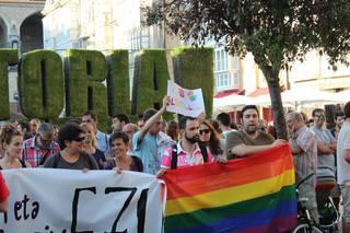 Eraso homofobo bat salatu dute Zigoitian
