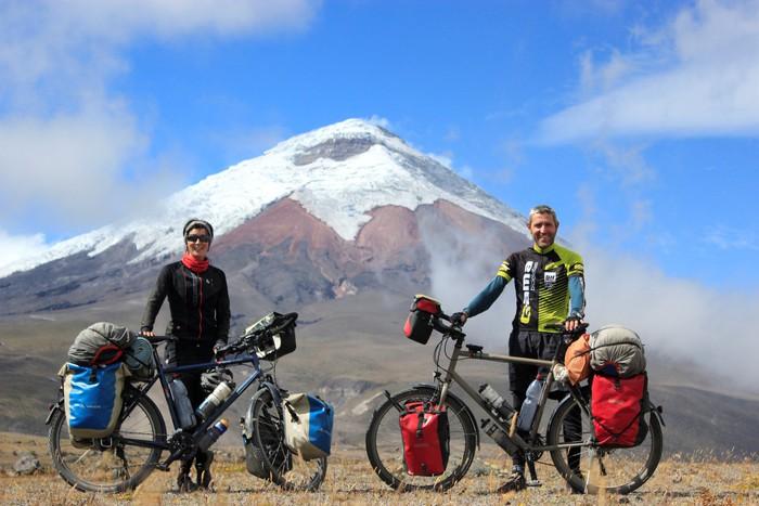 Eskalada Alaskan, Himalaia eta Hego Amerika bizikletaz, mendi jardunaldietan