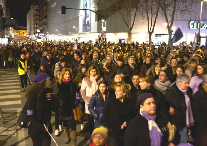 Borroka feministak gainezka egin du Gasteizko kaleetan - 4