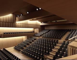 'Agora' proiektua hautatu dute Laudio Antzokia eraikitzeko