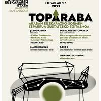 [TOP ARABA] Harkaitz Cano, Amançay Gaztañaga, Xabier Gantzarain