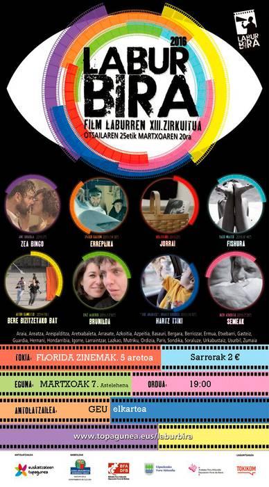 LABURBIRA 2016 euskarazko film laburren emanaldia