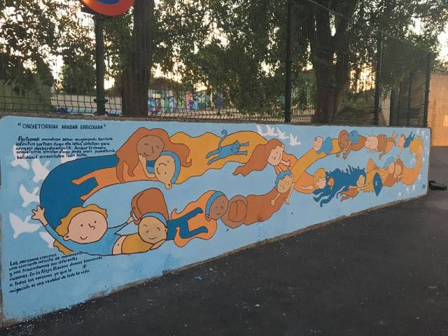 Mural lehiaketa antolatu du Bastidako Udalak