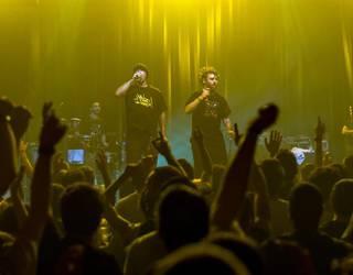BAD SOUND feat. Mandinka Warrior & Juantxo Arakama + Suaia eta Ama Rebel kontzertuan