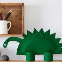 Dinosaurioak egiteko eskulanak