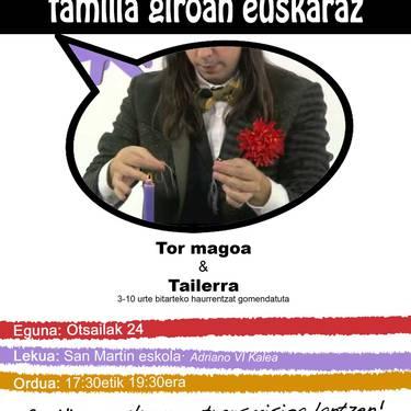 [IGANDEAK JAI] Tor magoa + tailerra