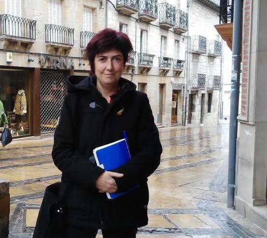 """Rebeka Gonzalez de Alaiza: """"Mendialdeko emakumeen presentzia areagotu behar dugu"""""""