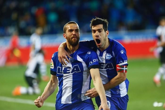 Alavesek urrezko hiru puntuak lortu zituen Levanteren aurka