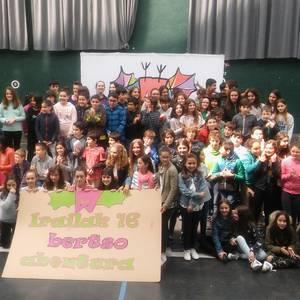 Festa giro ederrean amaitu da 2018ko 14tik beherakoen Eskolartekoa