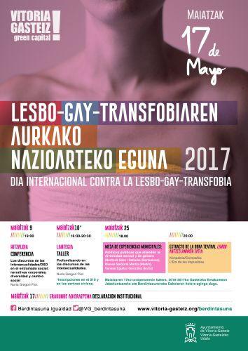 Hitzaldiak eta antzerkia, LGBTIQfobiaren aurkako eguna ospatzeko