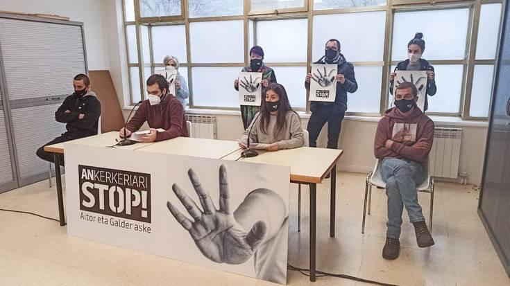8 urteko espetxe zigorrak eskatu dituzte Aitor Zelaia eta Galder Barbado gazteentzat