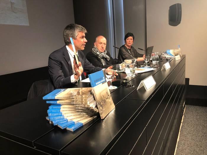Izaskun Arrue andereñoari buruzko liburua idatzi du Miel A. Elustondok