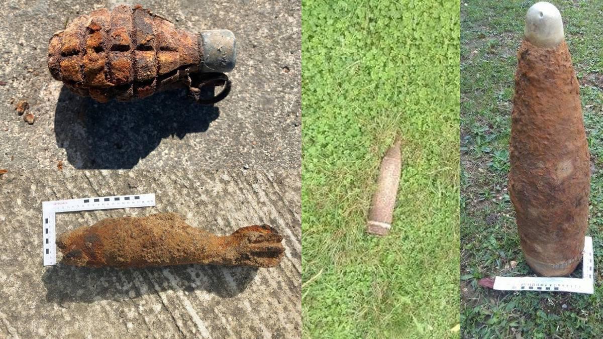 Zigoitiko baratze batean aurkitutako Gerra Zibileko jaurtigai bat indargabetu dute