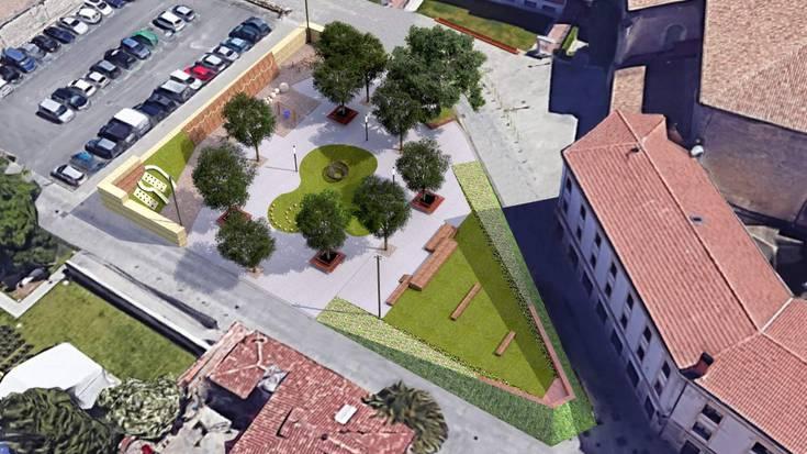 Etxauri plaza goitik behera eraldatuko du Haurren Auzoa proiektuak