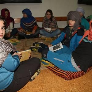 'Ira kurrin kurrin' Aramaioko San Martin eskolan