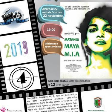 [ZINEMA] 'Matangi / Maya / M.I.A.'