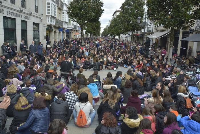 Milaka emakumek egin dute bat borroka feministarekin  - 49