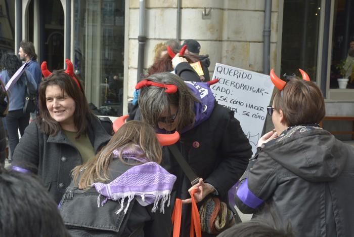 Milaka emakumek egin dute bat borroka feministarekin  - 18