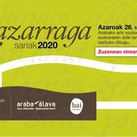 Lazarraga Sarriak: streaming ekitaldia