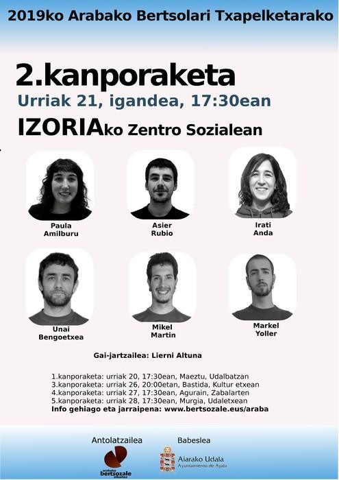 2019ko Arabako txapelketa osatuko duten kanporaketak urriaren 20an hasiko dira - 2