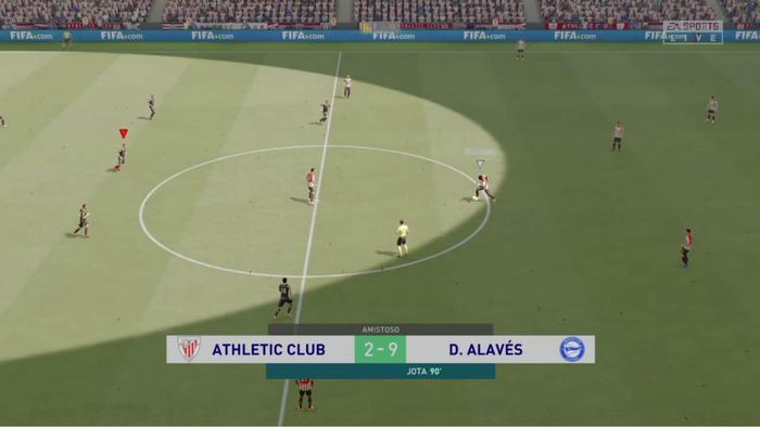 Alavesek 2-9 irabazi dio Athletici FIFA21 Euskal Ligaren finalean